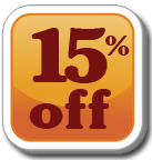 15%  off Products